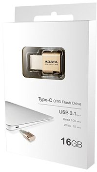 USB Flash A-Data UC350 16GB (AUC350-16G-CGD)